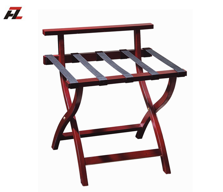 China supplier high back hotel room luggage racks