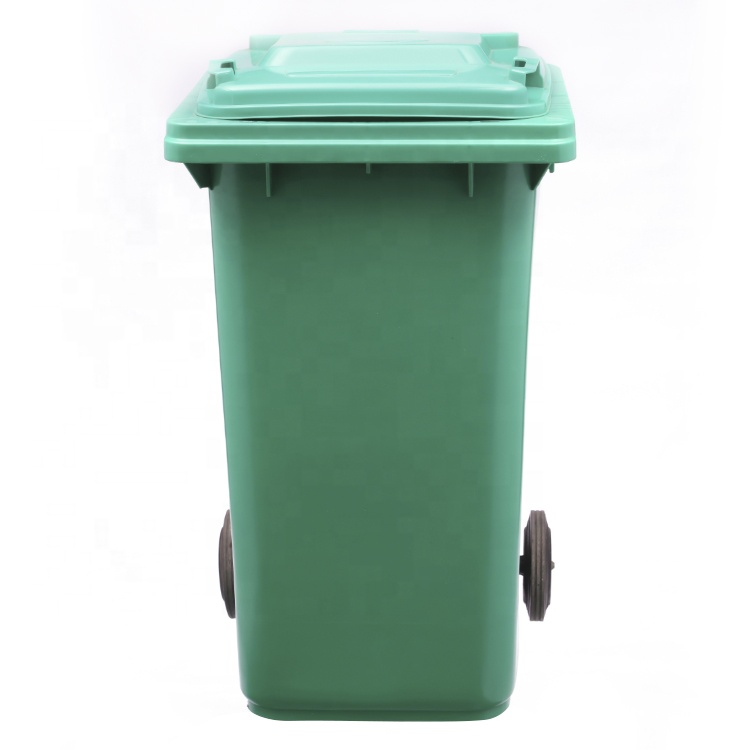 240l Liter Outdoor Recycling Hotel Medical Lockable Hdpe Plastic Mobile  Stand Waste Trash Garbage Container Can Bin With Wheel - Buy 240l Garbage