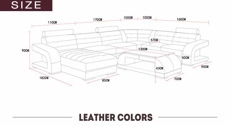 Desain Elegan Ukuran Besar Ruang Tamu Sofa Dijual
