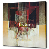 Bedroom decoration design abstract artwork