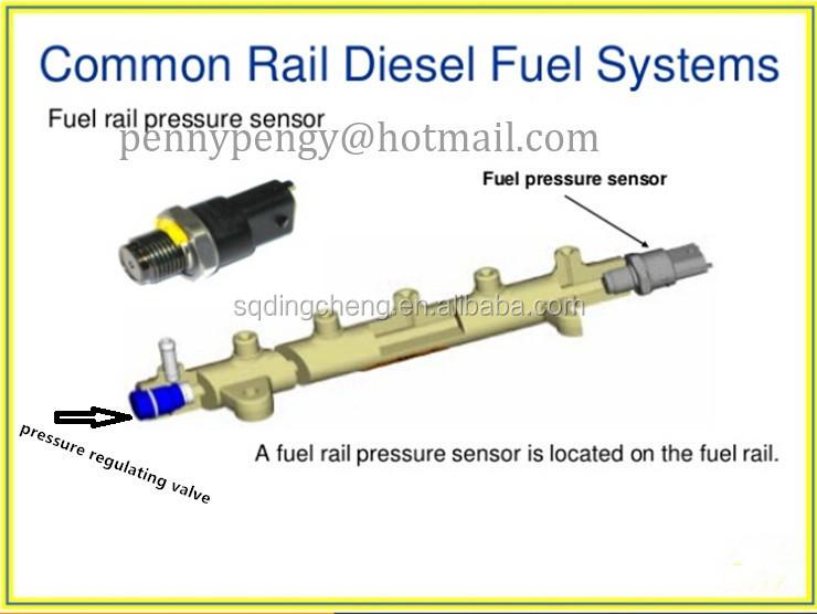 location of fuel pressure regulator 4 3 knock sensor