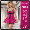 best selling women nighty mini dress open sexy baby doll lingerie