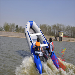 Small Inflatable Boat With Engine