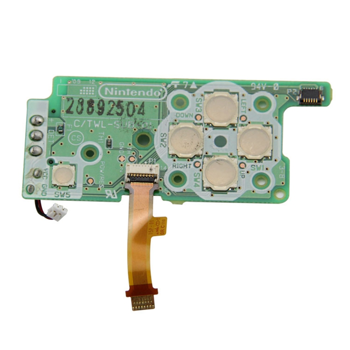 Video Game Repair Part Directional PCB Board For DSi Console With Good Quality