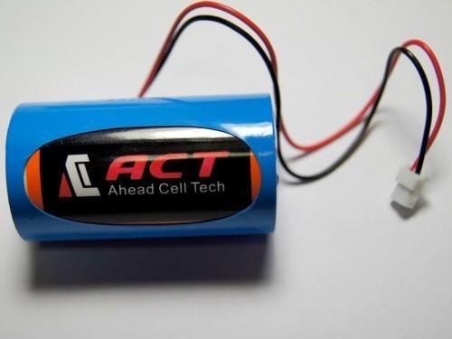 ACT hotsale 3.6V Primary Lithium thionyl chloride Battery/batteries 12v 3.6V 19 Ah ER34615 for car laptop