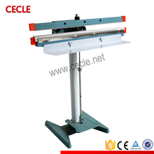 foot operated semi automatic plastic bag sealing machine