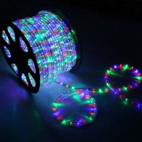 230v CE PVC round 3 wires led rope light indoor and outdoor decoration