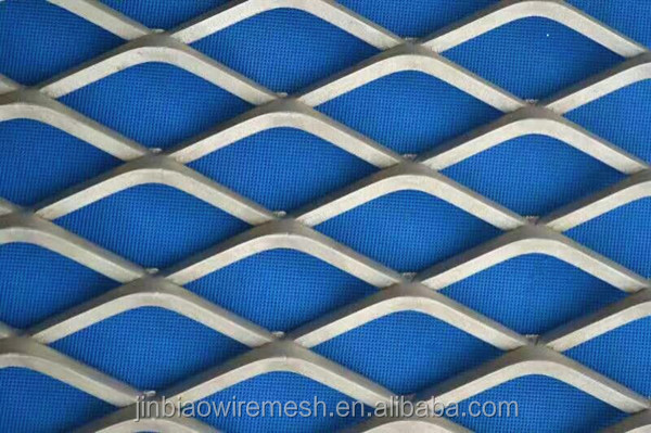 Expanded metal mesh Hebei Jinbiao stainless steel expanded metal mesh for building