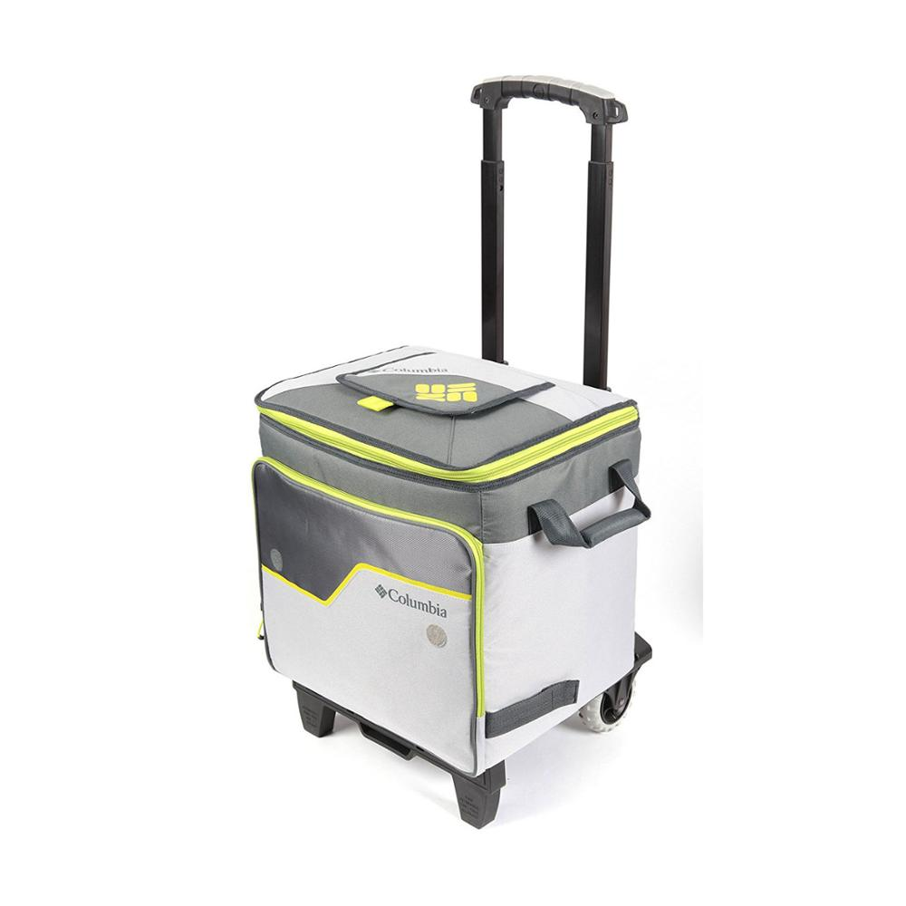 Large capacity thermal insulated picnic shopping  trolley custom lunch sport cooler bag