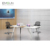 Top quality wooden white  small meeting room retangular  table conference chinese conference table