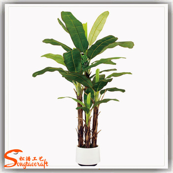 Indoor Banana Tree Home Decoration Fake Tree Sale Decorative ...