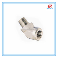 45 degree/90 degree stainless steel street elbow female&male pipe fittings