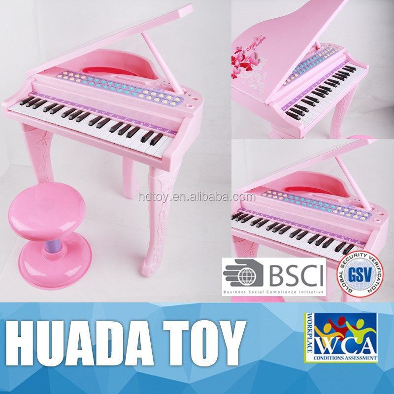 Musical Instrument Electronic Organ B/O Plastic Musical Baby Toys