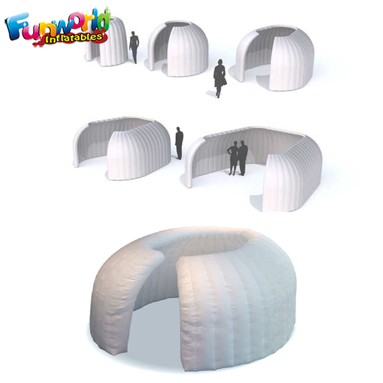 LED inflatable photo booth inflatable shelters inflatable LED wall