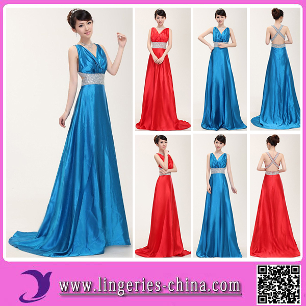 Wholesale High Quality Sexy Revealing Evening Dress