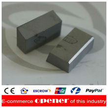 Type D2 cemented carbide welding insert for making 3 edged milling tools of T grooves and adjustable boring tools