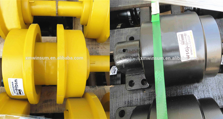 Kobelco SK250LC SK270-4 Excavator Upper Top Carrier Roller 24100N8640F1  With OEM Quality, View SK250LC carrier roller, WSG Product Details from  Xiamen