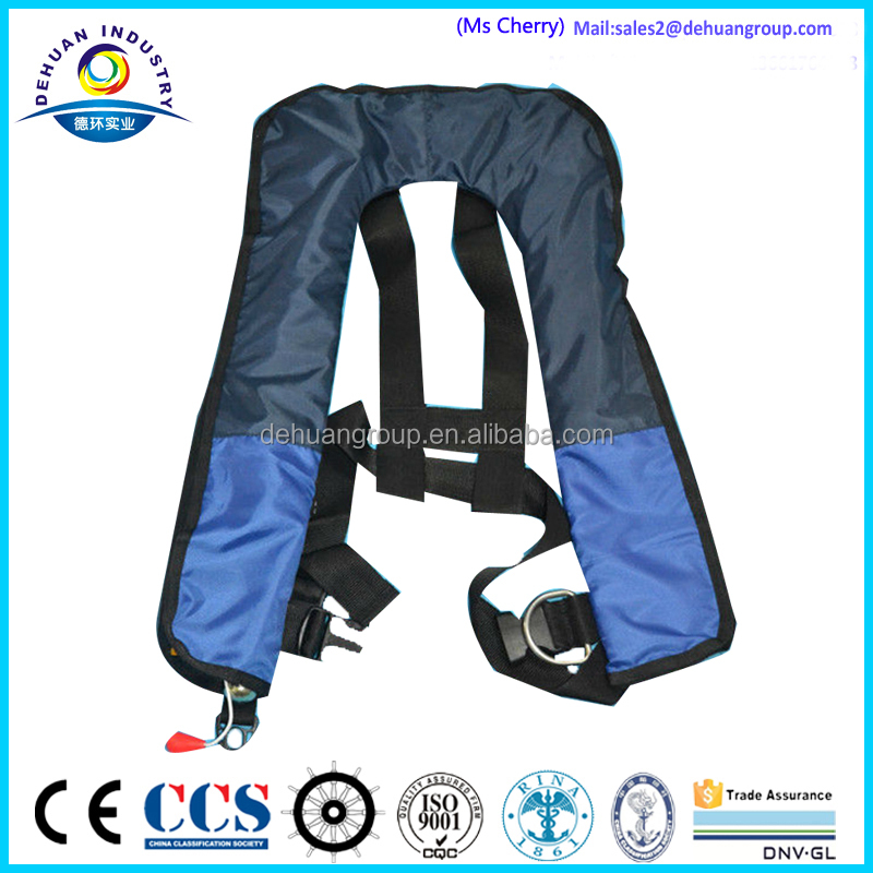 Automatic/manual inflatable life jacket/PFD