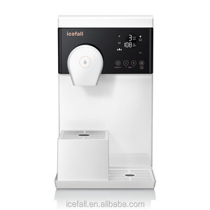 Icefall new smart 5 stage small ro system hot cold water purifier dispenser