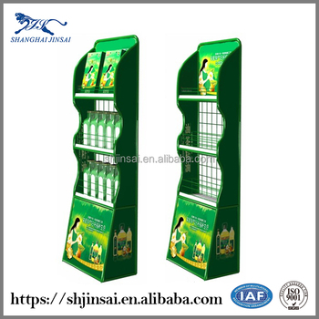 Supermarket Metal Snack Food Display Stand