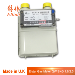 Premium Gas Meter 2.5 m3/h flow rate 1.2L cyclic volume