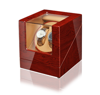 Automatic Watch Winder Box Case Holder Mechanical Watches Double Winding Display Organizer Luxury Motor Shaker