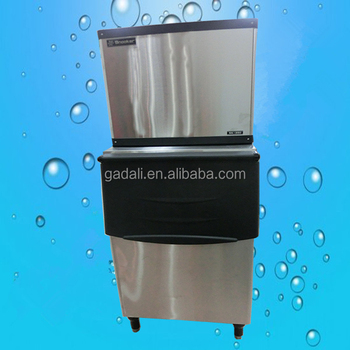 2016 hot sale stainless steel commercial cheap ice cube maker (ZQSK-700)