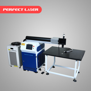 300W/500W YAG Metal Stainless Steel Aluminum AD Words Channel Letter Laser Welding Machine Price for sale