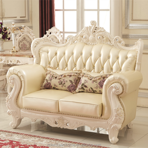 European style furniture royal classic wedding sofa for living room