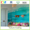 Beautiful wall painting factory price anti algal texture wall paint