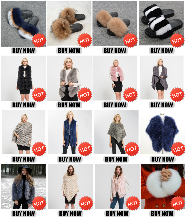 JKK Fur 2019 Factory Wholesale Fashion European Style Woman Real Fox Fur Women's Gilet Fur Vest from China