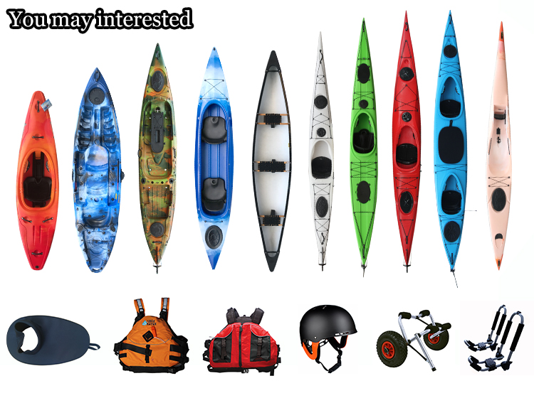 New Plastic 3 Person Kayak for family, 3 seat kayak, 3 person sit on top kayak