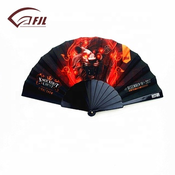 Wholesale antique imitation chinese personalized hand fan holder for sale tradition handicraft beautiful dance plastic hand fan