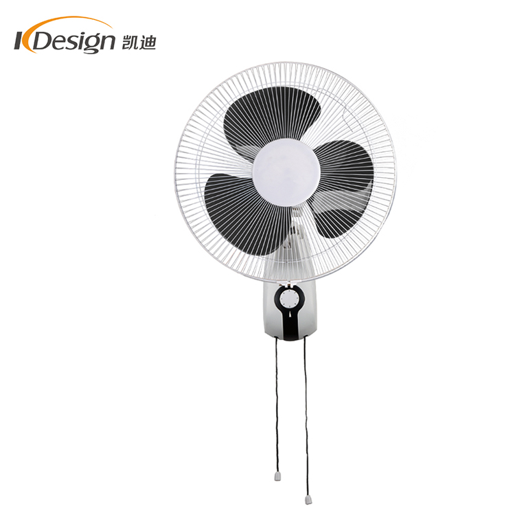 New Design Decorative Electric Wall Fan 16 Inch Pp Material Cool Fans For Bedroom