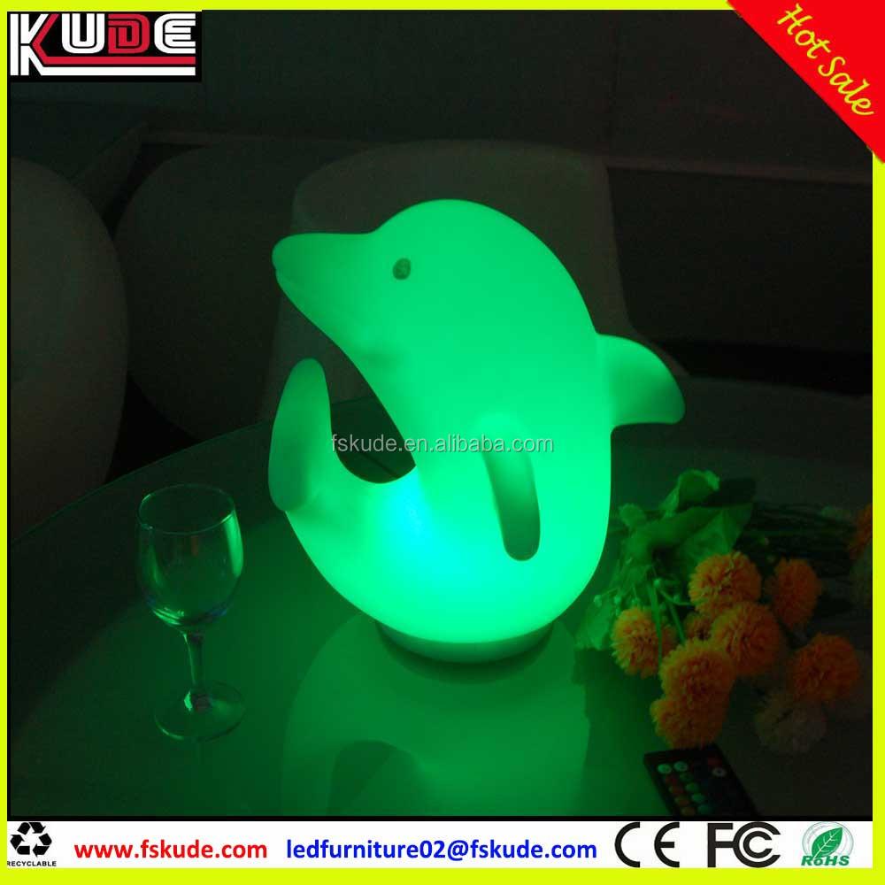 Delfino Plastica Fili Di Tavolosenza Lampada Forma A Da QCtsdrxh