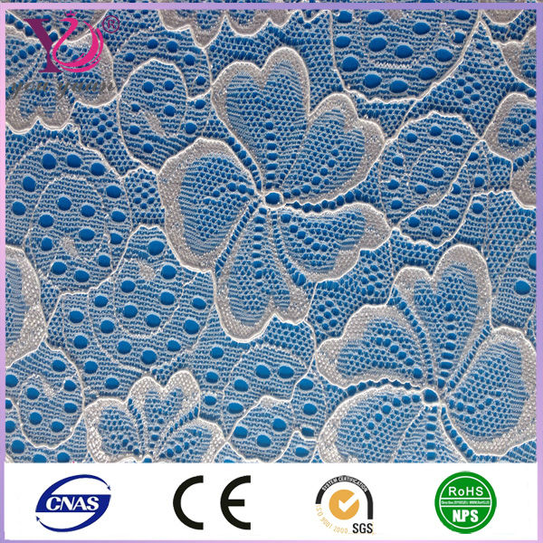 2014 Hot Selling Design Of Cotton Nylon Fabric Lace Wholesale For Garment