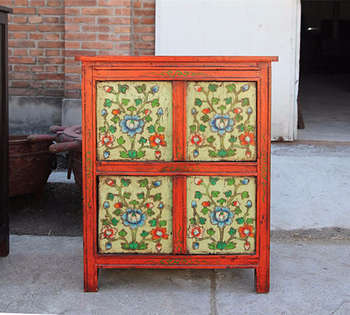 Tibetan Furniture, Antique Wooden Cabinet, TV Stand