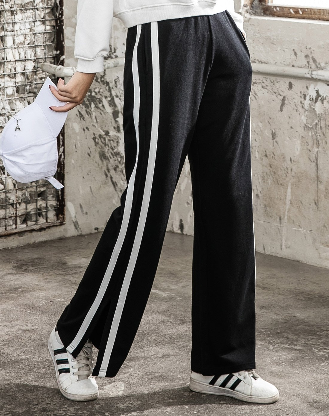 Running Yoga Pants Women's  Wide Leg Pants  Loose Spring And Summer New Casual Straight Pants