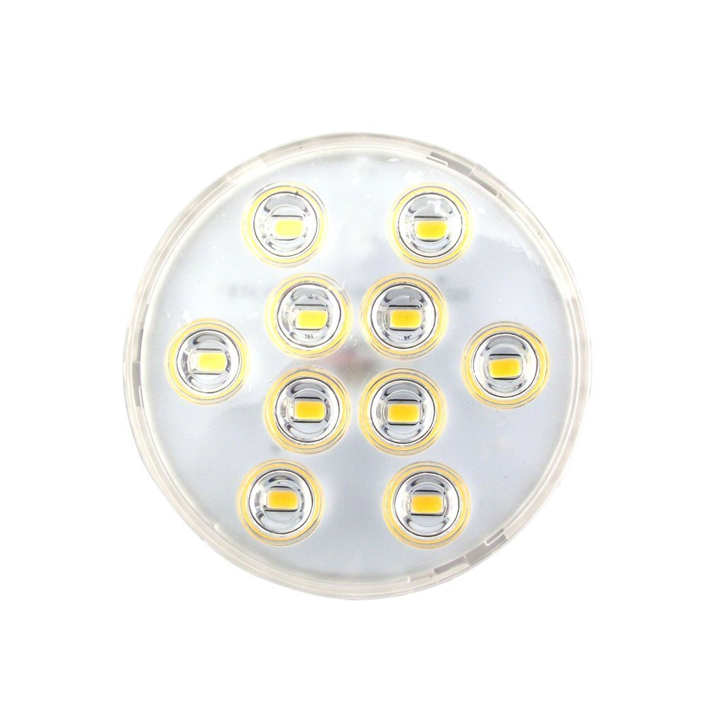 Bonlux Gx53 5w 110v Led Cabinet Light Warm White 550lm for Replacement of CFL Gx53 Light Bulb (Pack of 2)