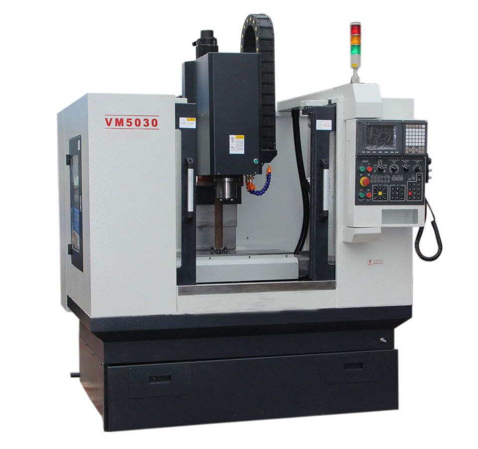 Vmc5030 Small Vertical Cnc Milling Machine For Metal - Buy ...
