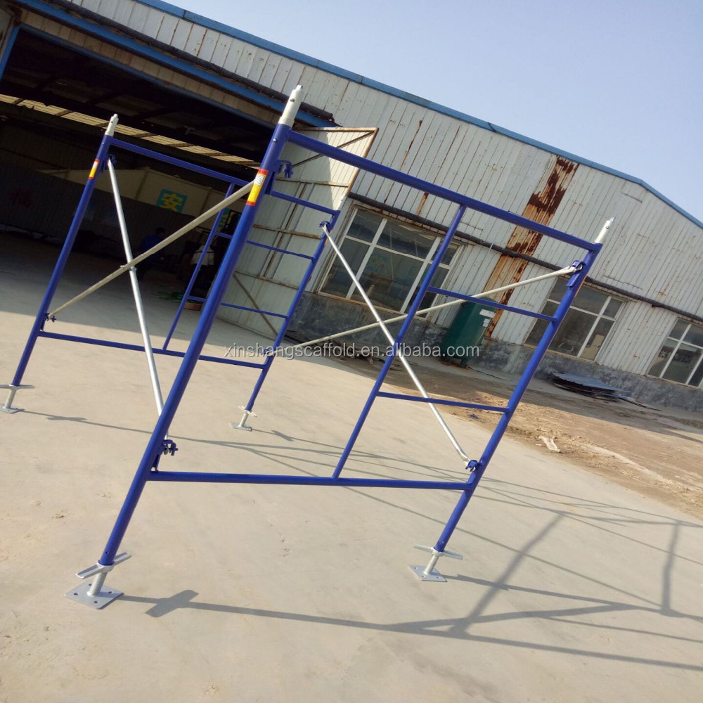 High Quality 5'x6'4'' Mason Frame Scaffolding For Construction
