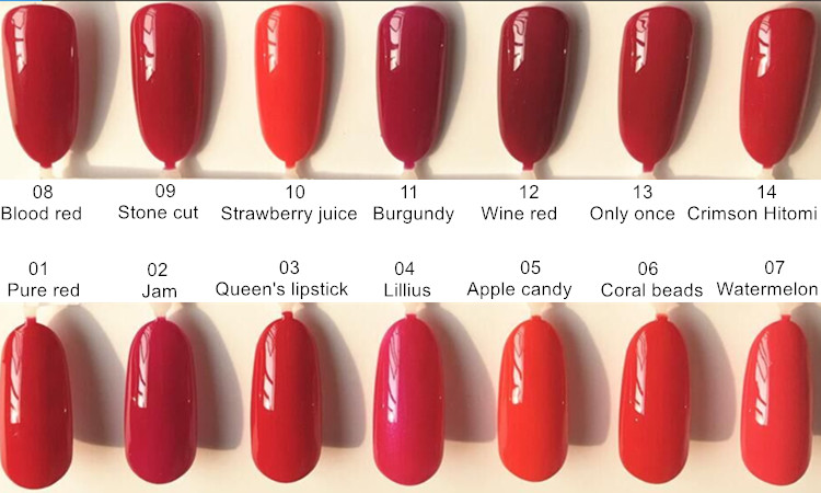 OEM/ODM nail polish sweet color for beautiful women's  gel nail polish from direct factory private label