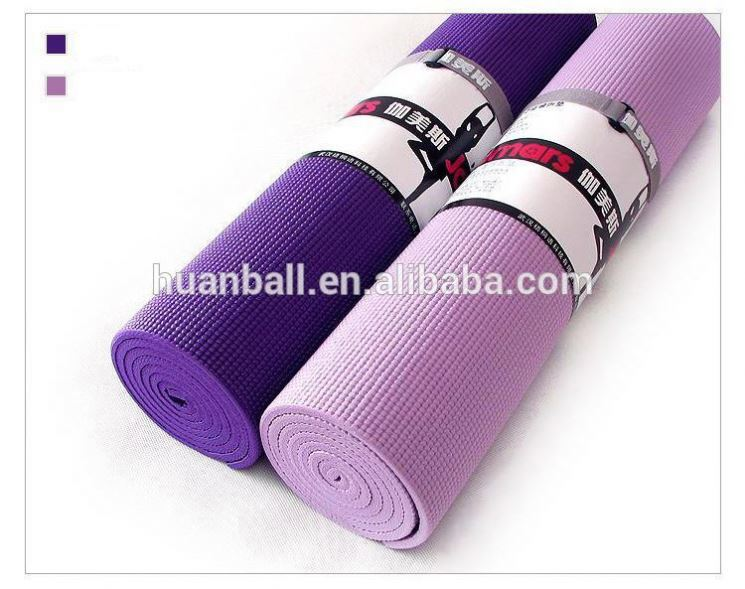 2016 hot selling non-toxic OEM / PVC yoga mat
