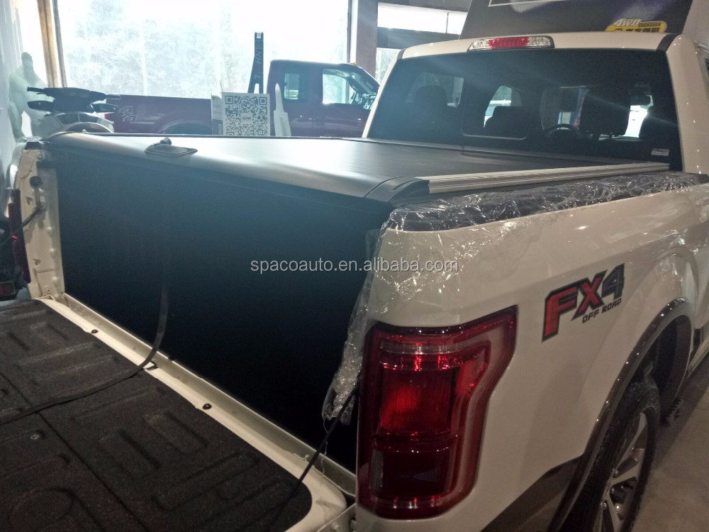 2018 Latest Retractable Tonneau Cover for F150 Roller Lid 2016+
