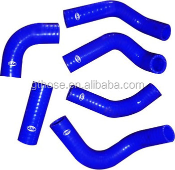 Aluminum round tube silicone hose kits for MOTORCYCLE CR125 CR 125