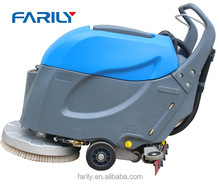 single brush cordless supermarket, factory, industrail use floor washer scrubber