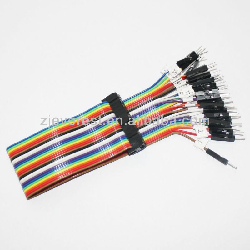 Gpio rainbow cable gpio conector hembra a individual for Zapatero individual