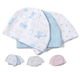 lasttest design comfortable fabric skin friendly fitted pure color clever dog and bright star pattern baby cotton cap