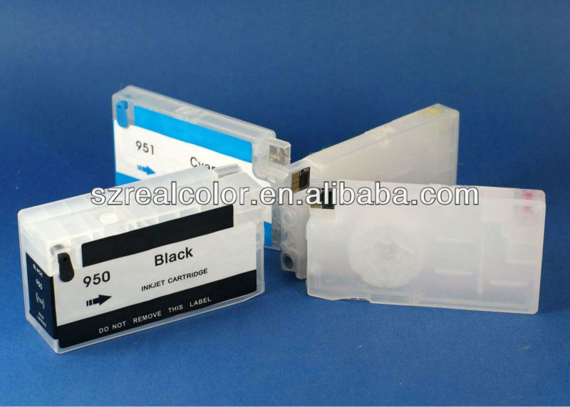 New refill ink cartridge with chip for HP office jet Pro 8100/8600(950/951,with air pump/clean function) Manufacturer in China