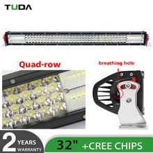 New 4row 8d 6500k 56400lm 4x4 Auto Parts Led Light Bar,Super Light 32inch Truck Flood Led Bar